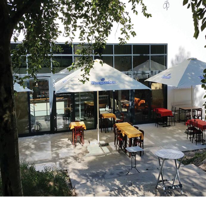 Terrasse La Verrerie restaurant à Meudon